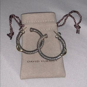 David Yurman Hoop Earrings